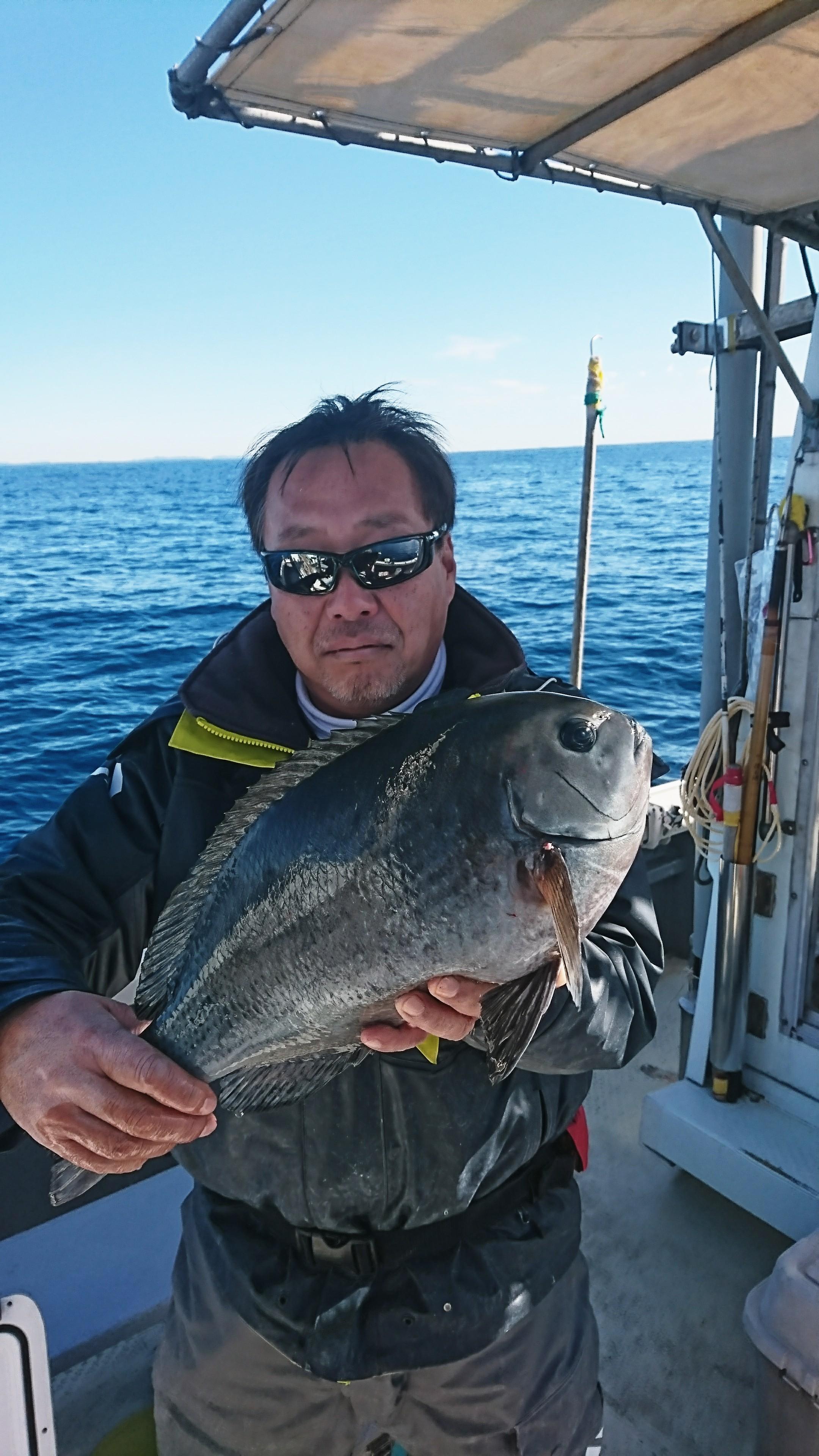 1月4日午前船の釣果